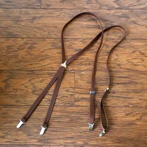 Thin elastic strap Suspenders